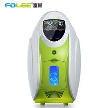 Высококачественный 90% высокочистый Oxgen flow 1L до 5L Портативный USB Умный домашний концентратор кислорода с распылителем Крытый кислородный бар