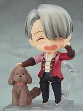 #741 YURI!!! on ICE YURI Victor Nikiforov nendoroid 10cm Action figure toys collection doll
