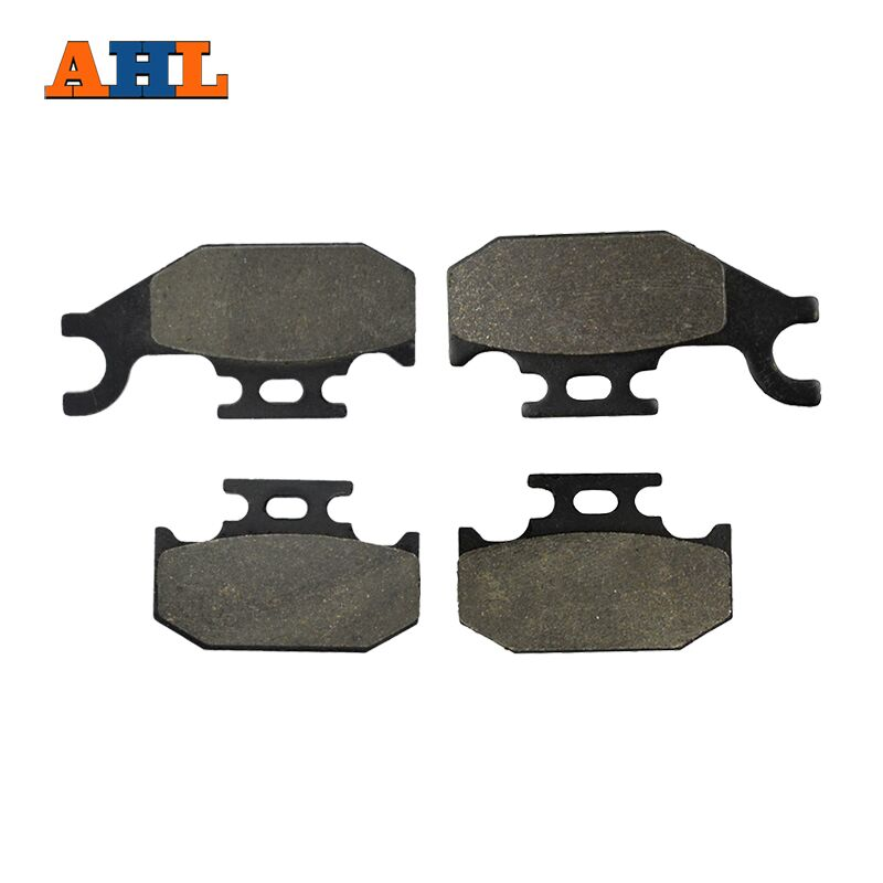 AHL Front (Left & Right) Motorcycle Brake Pads For Suzuki LT-A 500 LT-A 700 LT-A 750 XPL0 King Quad (Power Steering) 05-10