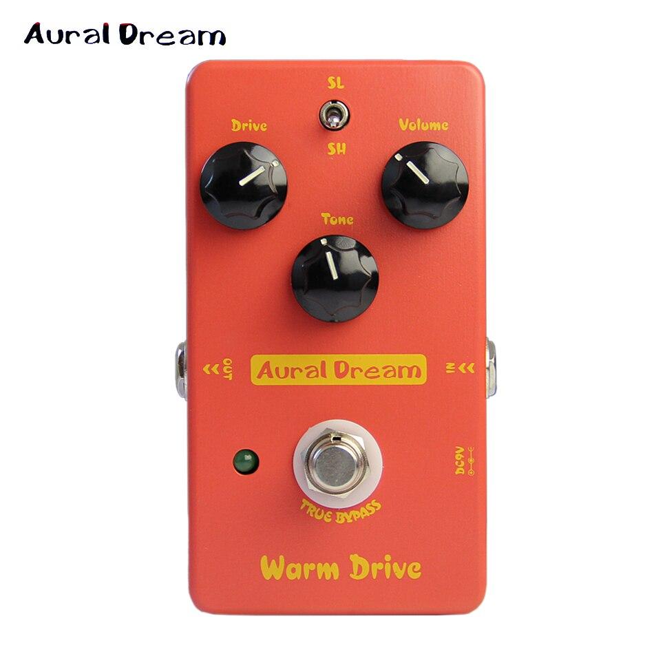 Aural Dream-Unidad de guitarra eléctrica, Pedal de efectos de guitarra eléctrica, OVERDRIVE, copia de Pedal Boss OD-1, Bypass auténtico