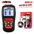 OBD2 OBD Car Diagnostics Auto Scanner Diagnostic-Tool ANCEL AD510 Automotive Fault Code Reader in Russian Diagnostic tool