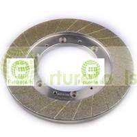 6A2 shape electroplated diamond grinding wheel for brake pads processing forturetools abrasive disc E028DZ