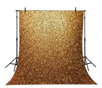 Golden Glitter Glittering Gold Lights Bling Backgrounds For Sale High Grade Vinyl Silk Cloth Computer Printed