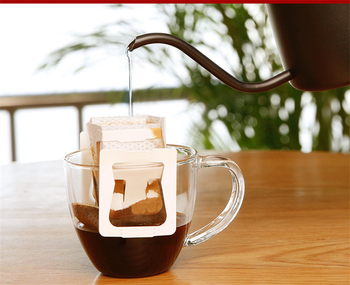 Arshen New 50pcs/Set Portable Drip Coffee Cup Filter Bags Hanging Cup Coffee Filters Tea Tool Home Office Useful Coffee Tool 6