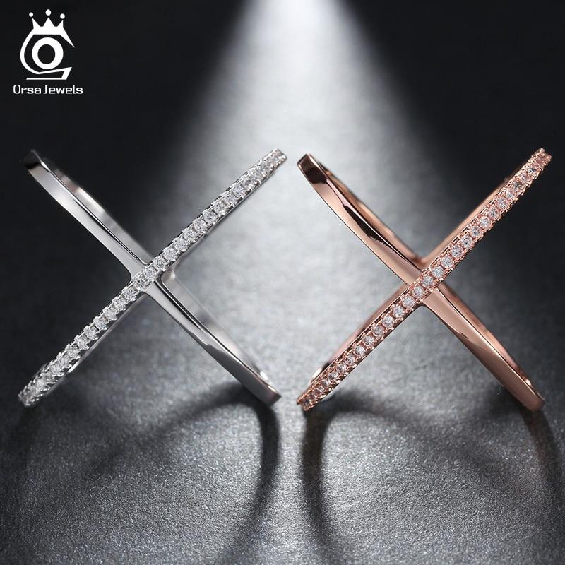 ORSA JEWELS 2019 Terbaru Desain Infinity Cincin dengan 36 Pieces - Perhiasan fashion - Foto 3