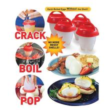 AS SEEN ON TV Egglettes Maker Egg Cooker Hard Boiled Eggs without the Shell