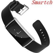 Smartch Новый N108 смарт-браслет 0.96 дюймов сердечного ритма monito BT 4.0 IP67 Водонепроницаемый сообщение push умный Браслет PK Сяо Mi Ray-Ban