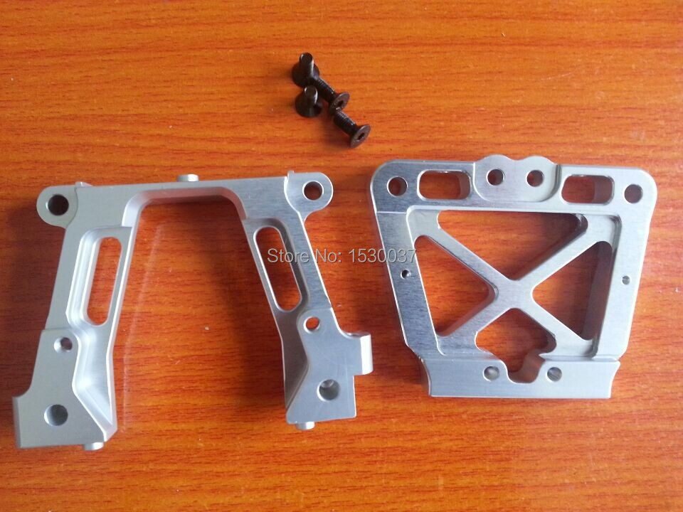 FIDRACING cnc machined aluminum steering arm set for losi 5ive t rovan lt kmx2