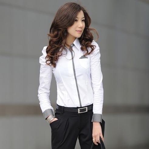 White Ladies Shirt Blouse | Is Shirt