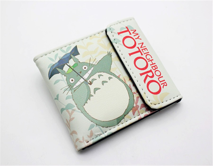 My Neighbor Totoro Wallet Lovely Cat Japanese Anime Pu Leather Short Purse Hasp Ladies Wallet Unisex Card Holder Purse 2016 new arriving pu leather short wallet the price is right and grand theft auto new fashion anime cartoon purse cool billfold