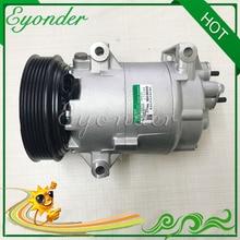 Ar Condicionado Compressor AC A/C Bomba De Refrigeração PV6 CVC para RENAULT MEGANE SCENIC 8200050141 8200316164 8200470242 8200600110
