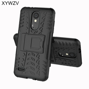 Image 1 - sFor Coque LG K8 2018 Case Shockproof Hard PC Silicone Phone Case For LG K8 2018 Cover For LG K 8 2018 Phone Bag Shell 5.0 inch