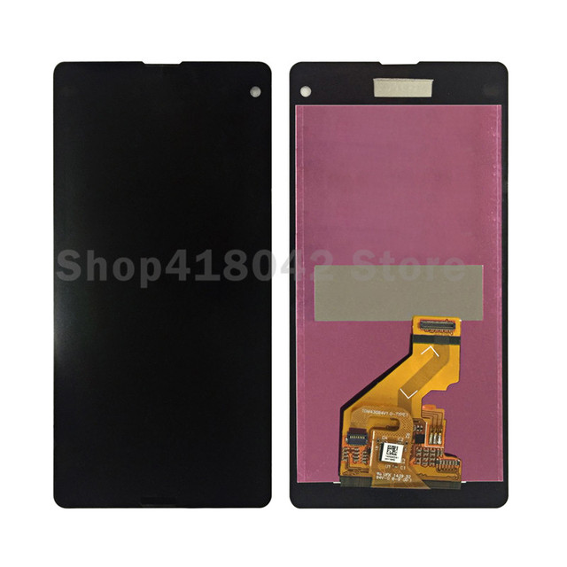 For Sony Xperia Z1 Mini D5503 Z1 Compact LCD Display With Touch Screen Digitizer Free Shipping