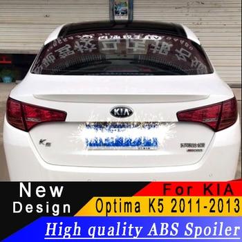 High quality ABS rear wing For Kia Optima K5 2011 to 2013 small spoiler primer or any color rear spoiler For KIA Optima K5