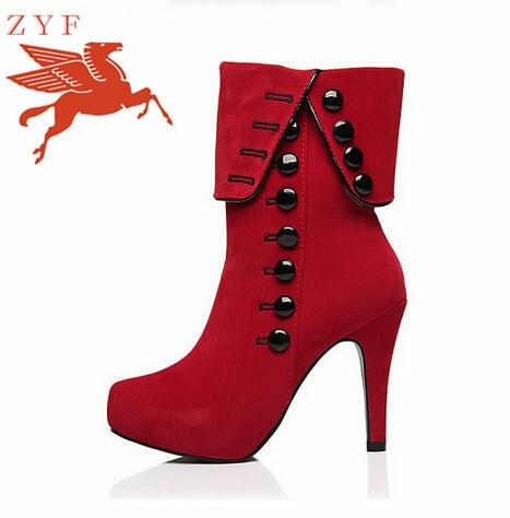 Zapatos rojos de invierno para mujer xeoliseTlW