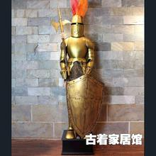 Bar Knight ornaments / medieval armor iron sculpture / ancient Rome iron Samurai /2m special offer