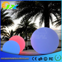 JXY FREE SHIPPING D30CM*2PCS LED Glow Ball Light Color Changing remote control waterproof ip68 JXY LB300 for home or swimming