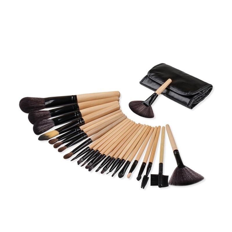 24pcs/set Pro Makeup Brushes Set Foundation Blending Powder Eyeshadow Contour Concealer Blush eyebrow brush mini full design wh контроллер элемент управления contour design shuttle pro v 2