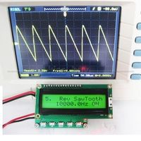0 1hz 100khz DDS Signal Generator Function Generator Frequency Meter Counter