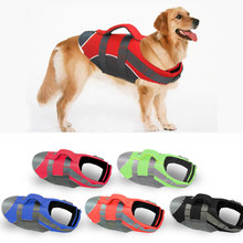 Pet Large Dog Life Jacket Clothes Labrador Golden Retriever Dog Surfing Swim Vest Clothes Swimwear Costume Pet Supplier(China)