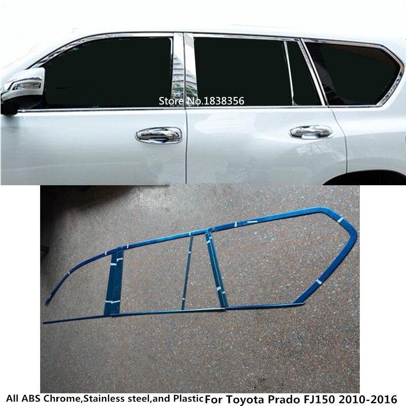 Fits Suzuki SX4 SEDAN 06-11 Carbon Fiber Door Pillars B-Pillar Trim Covers Post