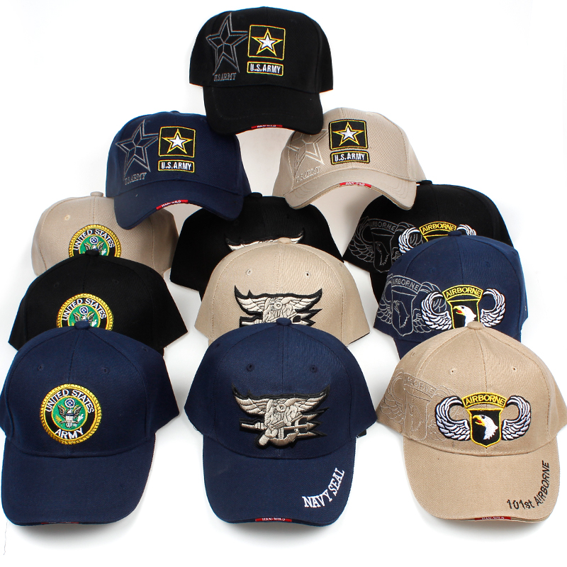 TUNICA 2018 Newest US Air Force army Mens Baseball Cap sports Tactical Caps  High Quality Navy Seal Army Camo Snapback Hats 9114eee36d6