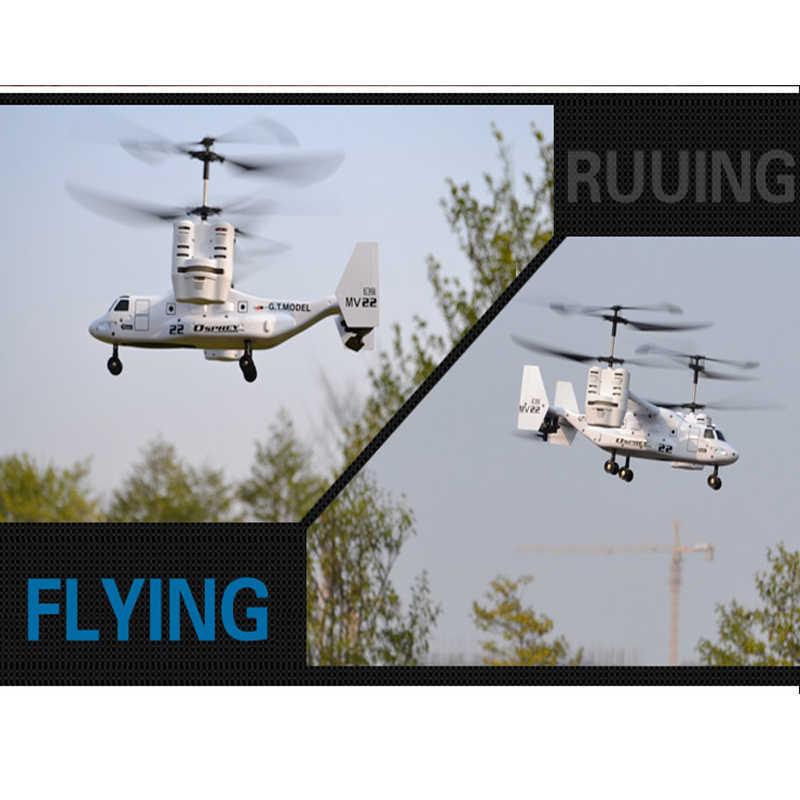 RC Helicopter Osprey V22 US Airforce Militaire Transportvliegtuigen 2.4G 4Ch Afstandsbediening Drone Model RTF Elektronische Hobby Speelgoed
