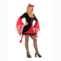 Free Shipping Halloween Costumes Adult Women Hooded Evil Red Demon Devil Costume Uniform Robe Fancy Cosplay Clothing for Women