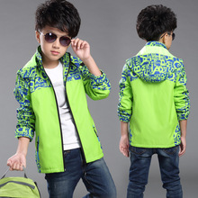 Hot selling ! boy wild Multiple occasions practical jacket 2017 new boys sport coat children waterproof breathable hooded jacket