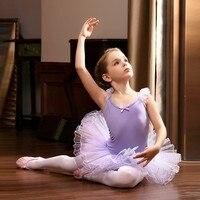 Professional Ballet Gymnastics Leotard Girl Skirt Toddler Kids Tutu Dress Child Infantil Meninastage Ballerina Dancewear Dance