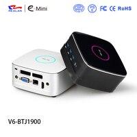 Intel J1900 NUC Mini PC Windows 10 Linux Computer HDMI VGA WiFi LAN 2.5 HDD SSD MIC USB3.0 DIY Mini PC