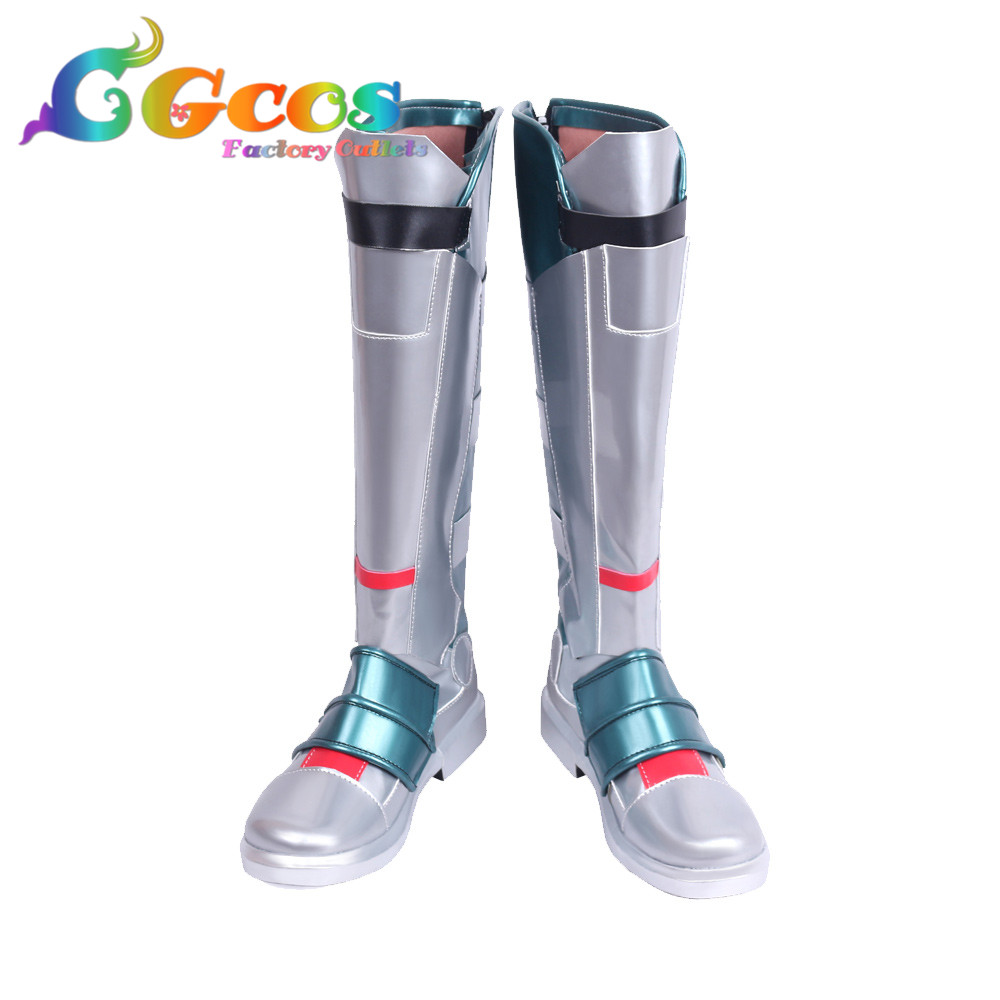 CGCOS Free Shipping Cos Cosplay <font><b>Shoes</b></font> SOLDIER 76 Jack <font><b>Morrison</b></font> Boots Anime Halloween Christmas Party