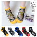 10pairs  Summer South Korean women's Fashion rose Nylon tube  Socks meias socks