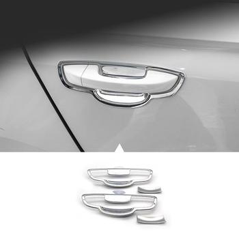 Rejilla ventana cuerpo Exterior Durable Auto Automovil decorativo pegatina tira modificación decoración 16 17 18 para Volkswagen Bora