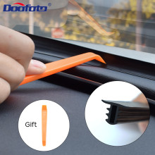 DOOFOTO Car Dashboard Sealing Strip Weatherstrip Rubber Seals Sound Insulation Universal Automobile Interior Accessories