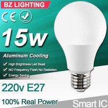 4pcs LED Lamp Light E27 LED Lampada Ampoule Bombillas 3W 5W 7W 9W 12W 15W E27 LED Bulb 220V Cold/Warm White SMD2835 LED Lights