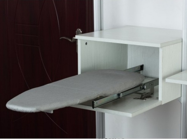 Premintehdw Slide Out Fold Down Ironing Iron Board Closet Wardrobe  Cloakroom Concealed