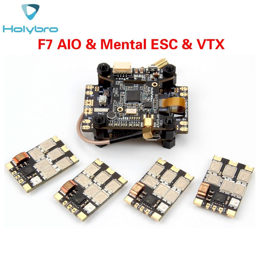 Holybro Kakute F7 AIO مراقبو الرحلة و Tekko32 F3 العقلية ESC و Atlatl HV V2 ل FPV سباق Drone RC multiroto-في قطع غيار وملحقات من الألعاب والهوايات على  مجموعة 1