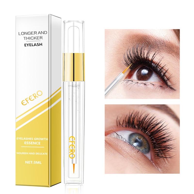 08450b11b7b Curling Eyelash Growth Serum Eyelash Enhancer Longer Thicker Lashes  Extension Eyelashes Eyebrows Enhancer Essence Eye Care EFERO