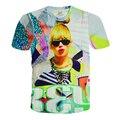 Alisister 2017 new fashion women punk t shirt beyonce top womens harajuku tee shirt summer style sexy 3d Character t-shirt tops