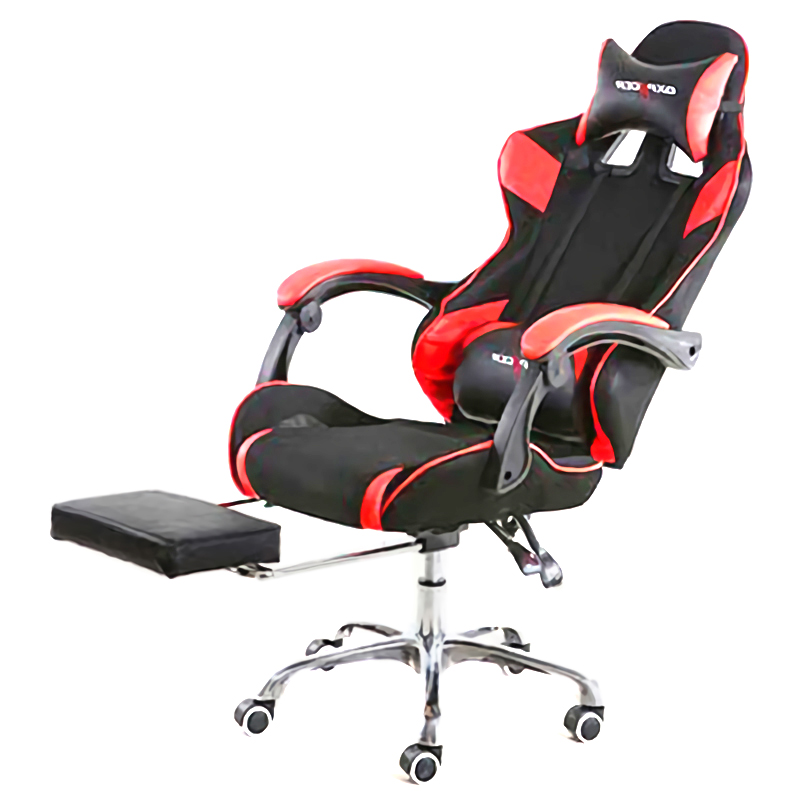Racing Seat E Games Chair Internet Office Reclining Chair with Footrest Seat Russia Lying Household Black