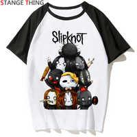 Neue Slipknot T Hemd Männer/frauen T-shirt Druck Rock Punk Rock Band Punk Streetwear T-shirt Sommer Hip Hop Top tees Männlichen/weiblichen