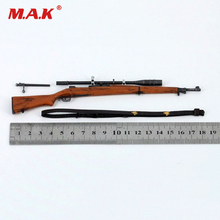 цена на Dolls Accessories Collections ZY2002 1:6 Scale M1903 Springfield Rifle WWII US Army Weapon Model fit 12