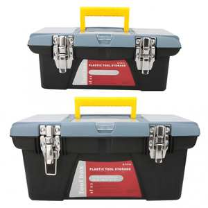 Toolbox Storage-Case Repair-Tool Container Hardware Carrying-Handle
