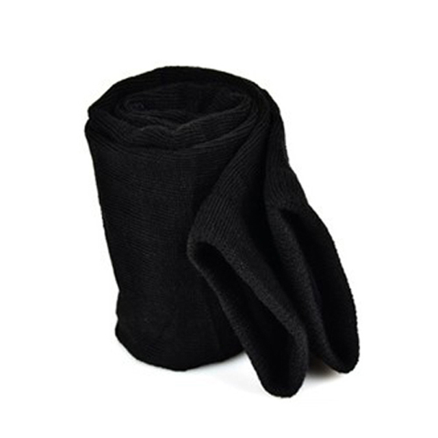 Lady Stretchy Soft Arm Warmer Long Sleeve Fingerless Gloves 2