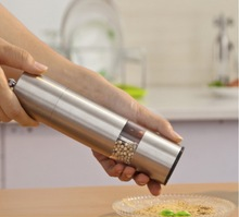 Acrylic manual pepper grinder stainless steel kitchen gadget gifts pepper mill, coffee grinder