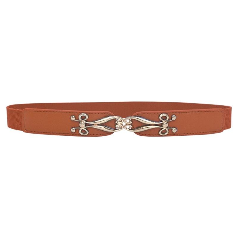 Seabigtoo Elastic women dress belts female European Retro Style thin belts waist chain High Quality Women Fashion 2019 Straps in Women 39 s Belts from Apparel Accessories