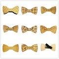 Quente na venda de moda europeus ímã de madeira dos homens gravata borboleta gravata adulto gravata borboleta festa de hip Hop madeira gravata borboleta