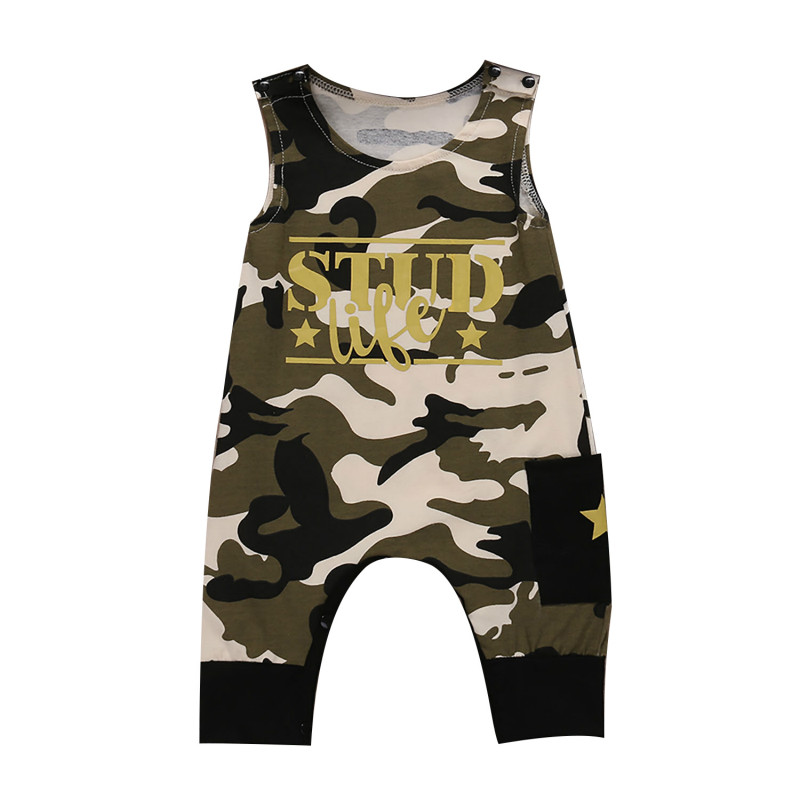 Baby Boys Camouflage Rompers Infant Jumpsuits BabySummer Short Sleeve Cotton Kids Overalls Newborn Baby Girls Clothing 0-24M NEW unisex baby boys girls clothes long sleeve polka dot print winter baby rompers newborn baby clothing jumpsuits rompers 0 24m