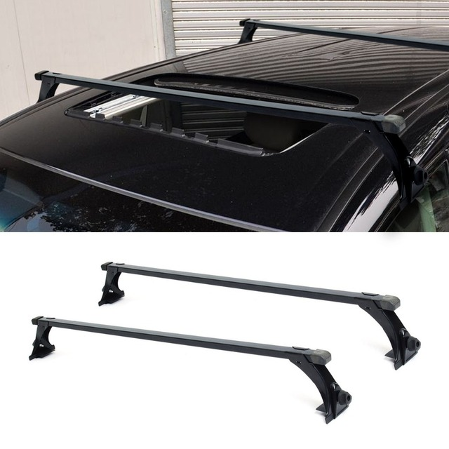 120cm Car Roof Rack Cross Bar Top Adjustable Bars Crossbars Luggage Cargo Carrier